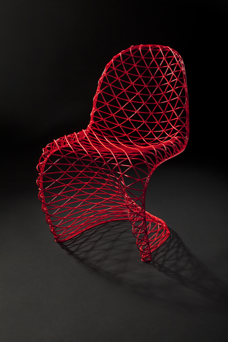 Wire S Chair